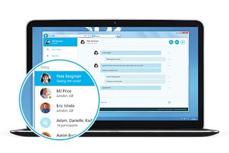 Skype for Web bekommt eigenes Design Skype for Web Skype for Web: Skype als Webversion in zwei Ländern verfügbar skype for web timeline 450x300