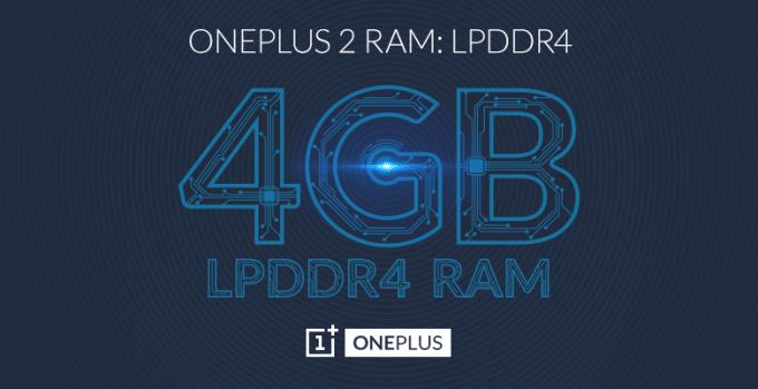OnePlus 2 mit 4 GB RAM oneplus 2 OnePlus 2 bekommt vier GB Arbeitsspeicher 4GB Forum 680x349