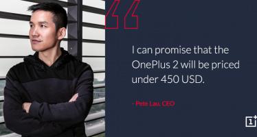 OnePlus 2 kostet nicht mehr als 450 Dollar