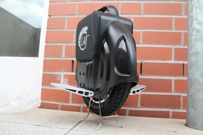 1Droid Fußablage und Stützen 1droid Elektronisches Einrad CAT 1Droid getestet IMG 7629
