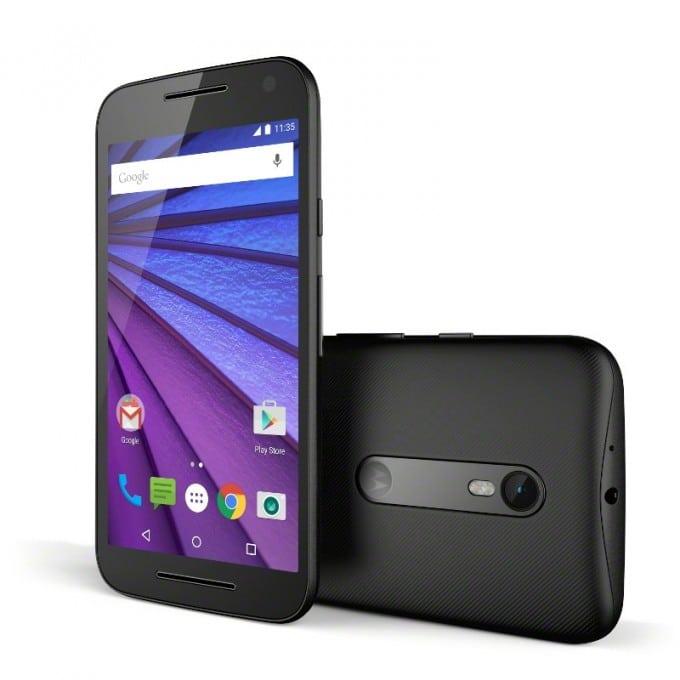 Motorola stellt Moto G (2015) vor Moto G Motorola Moto G (2015) enthüllt Moto G Black Front Back 680x680