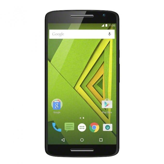 Das Motorola Moto X Play ist der kleine Bruder vom Moto X Style Moto X Play Motorola Moto X Play mit gigantischer Kamera Moto X Play Black Front 680x680