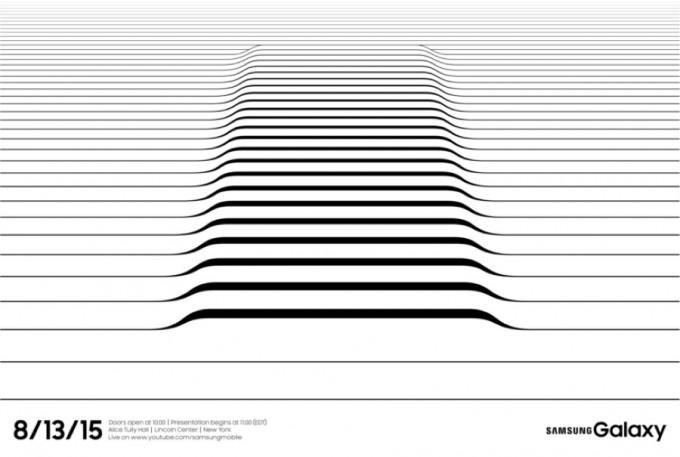 Samsung Galaxy Event in New York angekündigt samsung Neue Samsung Geräte werden bereits im August vorgestellt Samsung Galaxy 2015 invitation min 680x457
