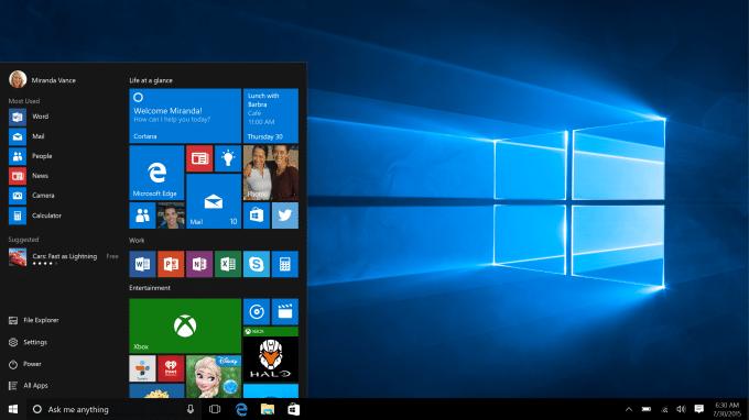 Windows 10 wurde veröffentlicht windows 10 Windows 10 steht zum Upgrade bereit – ab heute ein Jahr kostenlos Windows10 Start 680x382