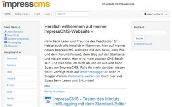 WordPress CMS vs ImpressCMS
