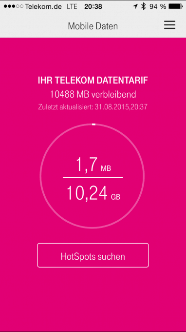Telekoms MagentaMobil L Plus künftig mit 10 GB Datenvolumen telekom Telekom Systemfehler verrät neuen MagnetaMobil L Plus IMG 3219 382x680