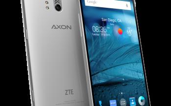 ZTE Axon kommt nach Deutschland – mit Doppellinse und drei Sicherheitsfeatues