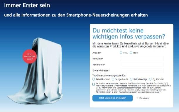 o2_iphone6s_registrierung  Neues iPhone: o2 schaltet die Vorregestrierung frei o2 iphone6s registrierung