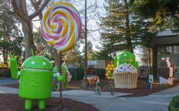Android 5 Lollipop: Marktanteil unter 20 Prozent