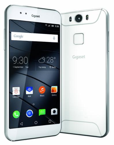 Gigaset ME vorgestellt Gigaset Gigaset stellt seine erste Smartphones vor – von Highend bis zum Einstiegsmodell 57 gigaset me print white startscreen