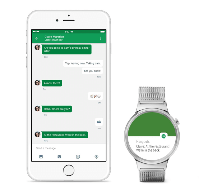 Android Wear ist mit iOS lauffähig Android Wear Android Wear ist ab sofort mit iPhones kompatibel AndroidWearforiOS