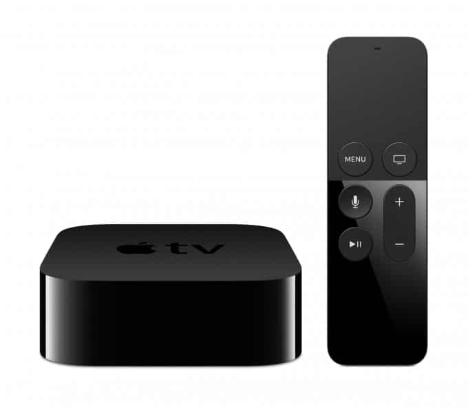 Der Apple TV wird in der vierten Generation dicker Apple TV Neuer Apple TV bringt eigenen App Store – von Spielen über Filme und mehr AppleTV 4G Remote PRINT 680x592