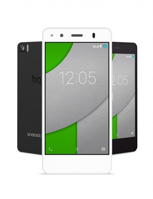 BQ stellt Aquaris 4,5 vor BQ BQ geht mit neuem Smartphone an Start – basierend auf Android One Aquaris A4