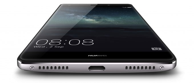 Huawei Mate S ist gebogen Huawei Mate S Huawei stellt Luxus-Smartphone Mate S vor Huawei Mate S Front Angle 680x291