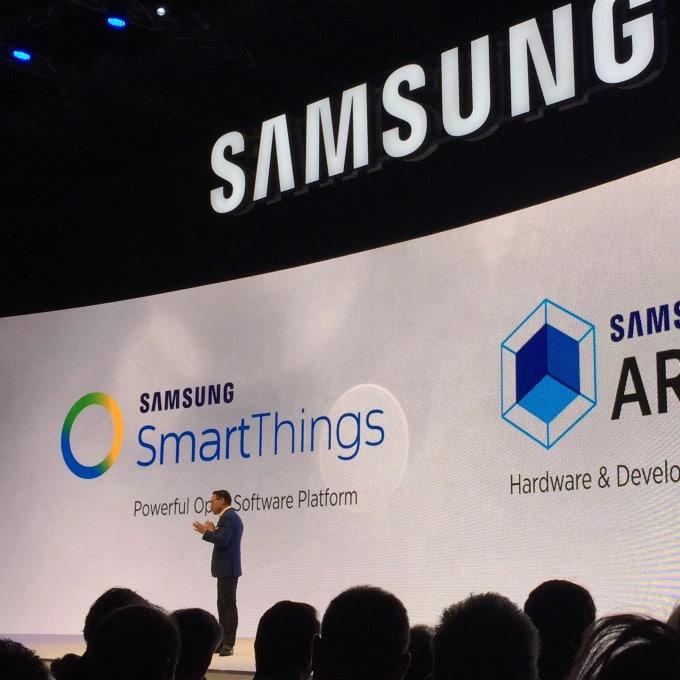 Samsungs Zukunft: Smart-Home Samsung Samsung startet mit Internet der Dinge durch – von Sensoren bis zu BluRay Playern IMG 9369 680x680