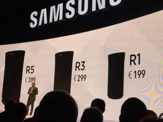 Samsung neue Lautsprecher Samsung Samsung startet mit Internet der Dinge durch – von Sensoren bis zu BluRay Playern IMG 9416 e1441282308595 680x510