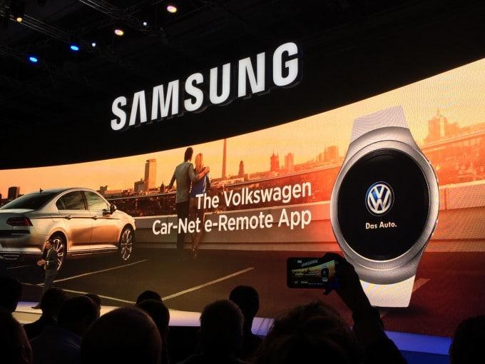 Neue App verbinden Samsung Smartwatch mit VW Samsung Samsung startet mit Internet der Dinge durch – von Sensoren bis zu BluRay Playern IMG 9426 e1441282245924 680x510
