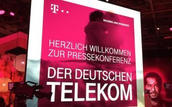 Telekom Pressekonferenz bestätigt altes Wissen – eigenes Tablet als Fernbedienung