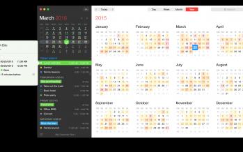 Fantastical 2.1 ist da – OS X El Capitan Unterstützung und mehr
