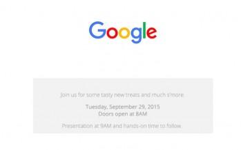 Google lädt für Presseevent Ende September ein