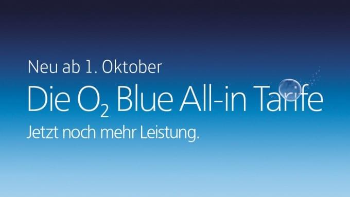 Telefónica startet mit Neuerungen für O2-Verträge o2 Telefónica führt neue O2 Verträge ein – auch Auslandspakete künftig buchbar o2 Blue All in Tarife 1000x563 680x383