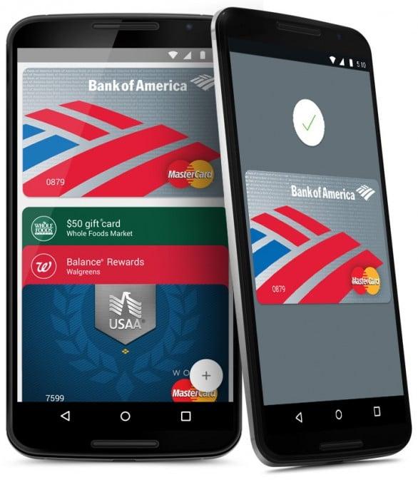 Android Pay ist in den USA gestartet Android Pay Android Pay startet in Amerika – über eine Million Akzeptanzstellen pay easy instores 586x680