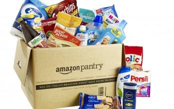Amazon Pantry: Lebensmittel, Haushaltswaren, Getränke und vieles mehr jetzt bestellbar