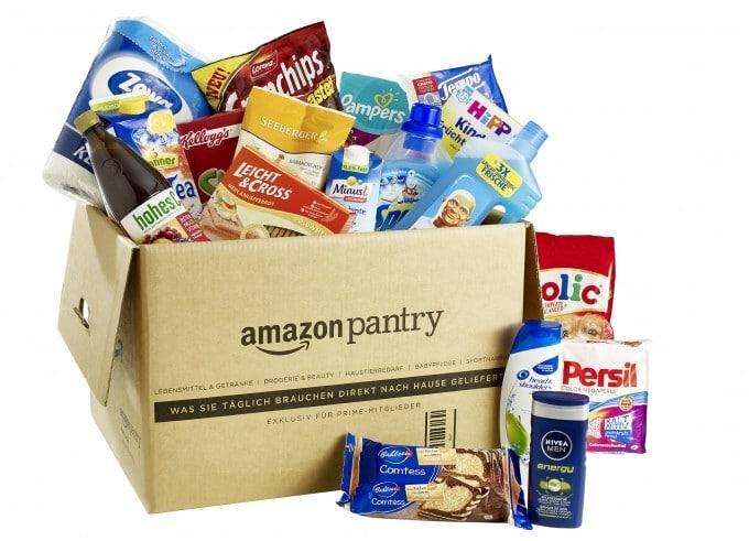 Amazon startet Pantry auch in Deutschland Amazon Amazon Pantry: Lebensmittel, Haushaltswaren, Getränke und vieles mehr jetzt bestellbar Amazonde Pantry 680x491