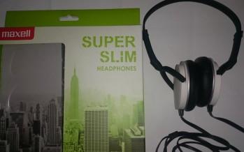 Maxell Super Slim – der Kopfhörer mit klasse Tragekomfort