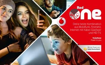 Datenvolumen teilen: Vodafone führt Red One Tarife ein