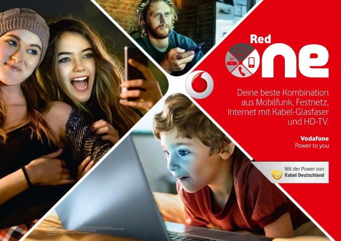 Vodafone Red-One startet im November vodafone Datenvolumen teilen: Vodafone führt Red One Tarife ein Red One 680x480