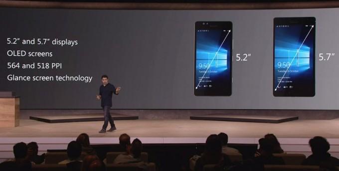 Microsoft Lumia 950 und Lumia 950 XL im Vergleich Microsoft Microsoft stellt drei neue Lumia-Smartphones mit Windows 10 vor lumia 01 680x343