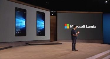 Microsoft stellt drei neue Lumia-Smartphones mit Windows 10 vor
