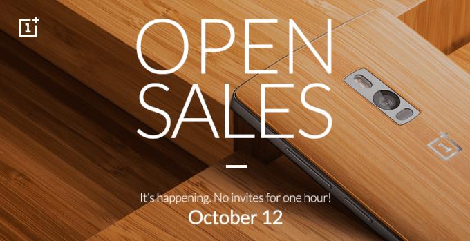 Am 12. Oktober kann das OnePlus 2 ohne Invite gekauft werden oneplus 2 OnePlus 2 kommenden Montag im freien Verkauf erhältlich open announcement Forum 680x349