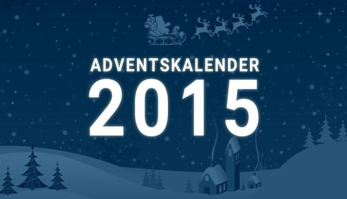 Der TechnikSurfer Adventskalender - der Countdown läuft Adventskalender Der TechnikSurfer Adventskalender steht bevor – am Dienstag geht's los Adventskalender 2015 680x391