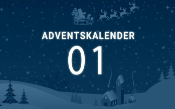 Adventskalender Tag 1: alles dabei mit Blaucloud