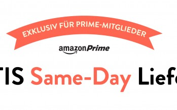 Amazon Same-Day Lieferung seit heute in Deutschland – auch Samstags