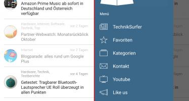 In eigener Sache: TechnikSurfer 3.0 jetzt auch für Android verfügbar
