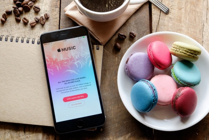 Apple Music startet für Android Apple Music Apple Music jetzt auch für Android verfügbar Apple Music fuer Android 2 680x454