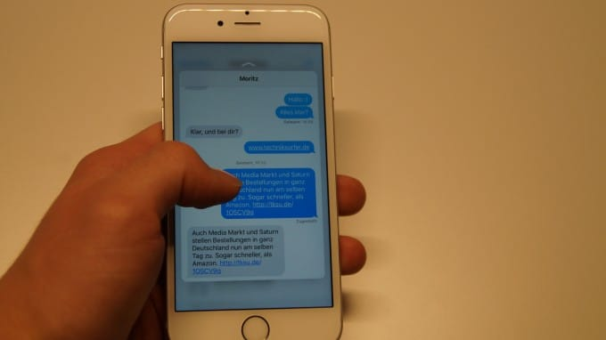 iPhone 6s - Vorschau dank Peek & Pop iphone 6s iPhone 6s unter der Lupe – nicht alles klingt nach Apples Philosophie DSC05211 680x382