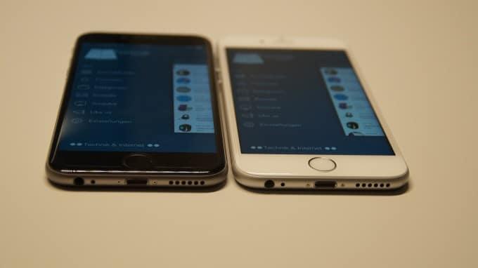 Das iPhone 6s (rechts) ist spürbar schneller, als sein älterer Bruder (links). iphone 6s iPhone 6s unter der Lupe – nicht alles klingt nach Apples Philosophie DSC05220 680x382