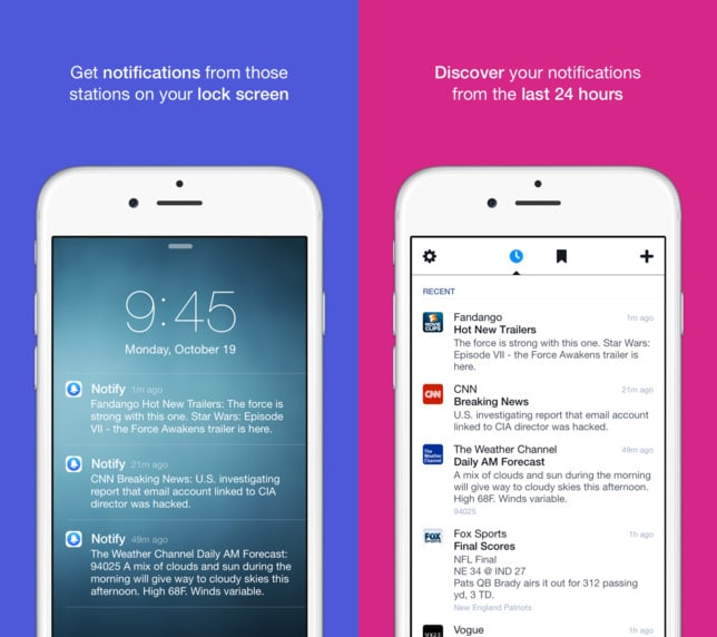 Notify Kurzer Kampf: Facebook stellt News-App Notify ein Notify 1