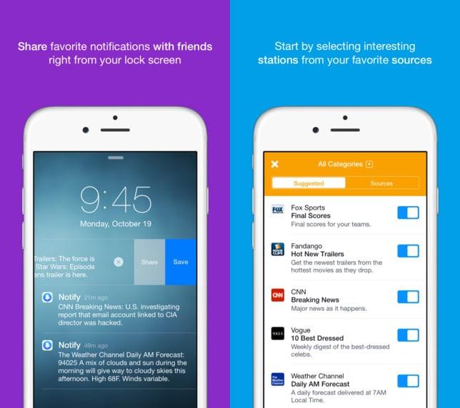 Notify - eine News-App von Facebook Notify Facebook bringt News-App namens Notify an den Start Notify 2