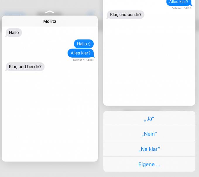Peek and Pop auf dem iPhone 6s iphone 6s iPhone 6s unter der Lupe – nicht alles klingt nach Apples Philosophie Peek Pop 1 680x605