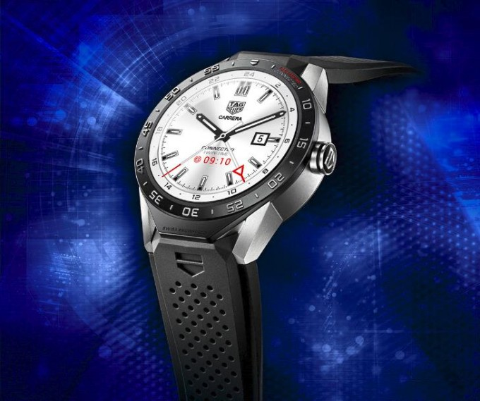 Tag Heuer kommt mit Tag Heuer Connected daher Tag Heuer Connected Tag Heuer Connected vorgestellt – eine austauschbare Luxussmartwatch Tag Heuer Connected 680x569