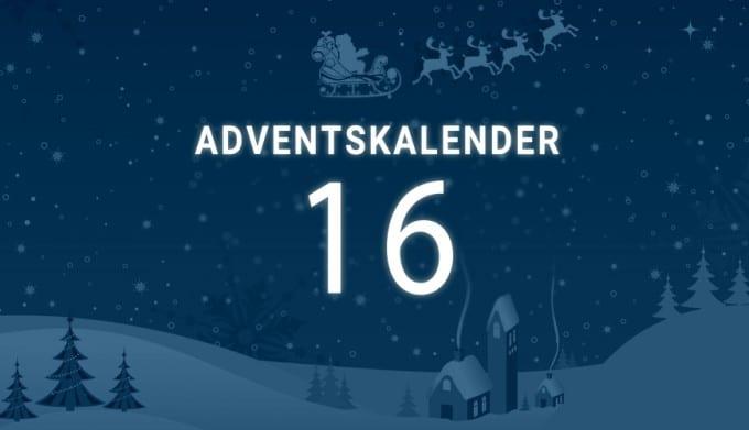 Adventskalender Tag 16 adventskalender Adventskalender Tag 16: ein Gewinn deiner Wahl Adventskalender tag 16 680x391