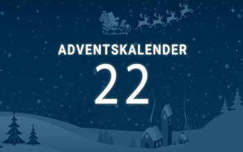 Adventskalender Tag 22: der Countdown läuft