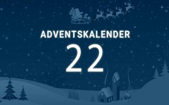 Adventskalender Tag 22: der Countdown läuft