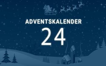Adventskalender Tag 24: frohe Weihnachten