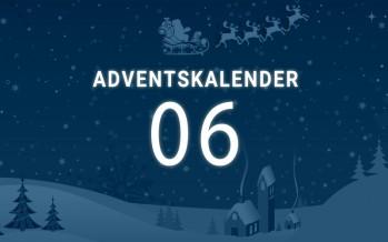 Adventskalender Tag 6: der Nikolaus lässt ein Smartphone da…